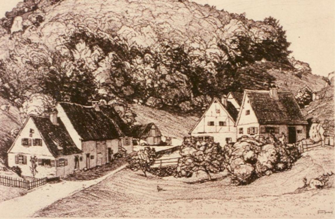 Albdorf Anhausen 1913 | Felix Hollenberg