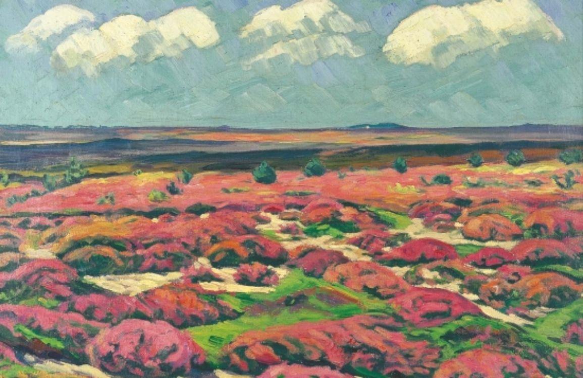 Heide mit Wolkenschatten 1920 | Wilhelm Laage